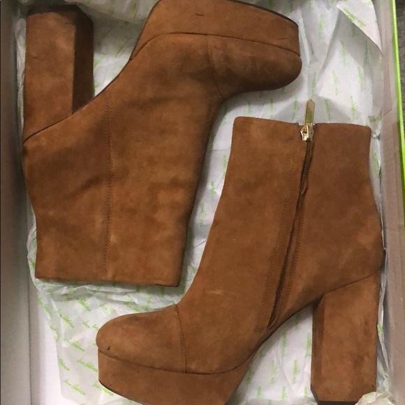 5ddc0d5af2c251 Sam Edelman Azra Platform Ankle Bootie. M 5ac413e9f9e5018ea327b30d